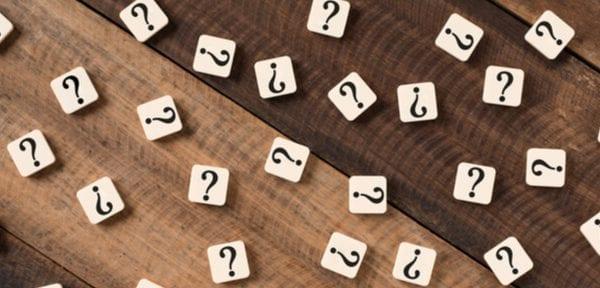 question mark title